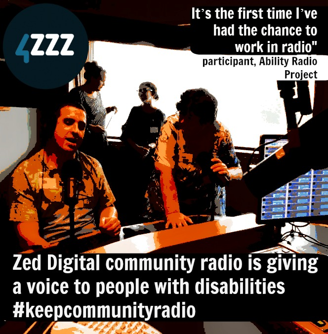 """It's the first time I've had the chance to work in radio"" participant, Ability Radio Project"